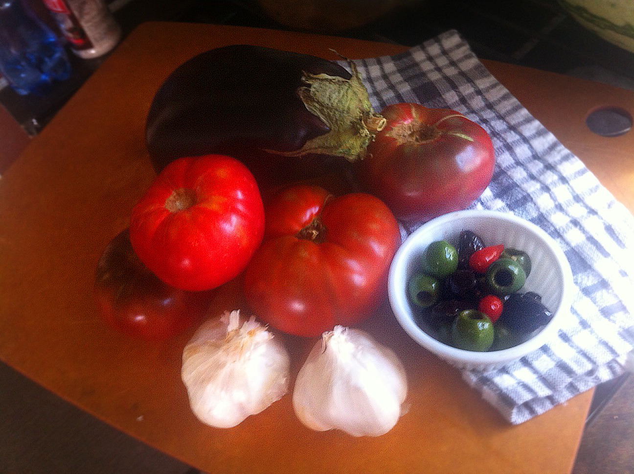 Pasta with Eggplant and Tomatoes – Diet for a Tiny House