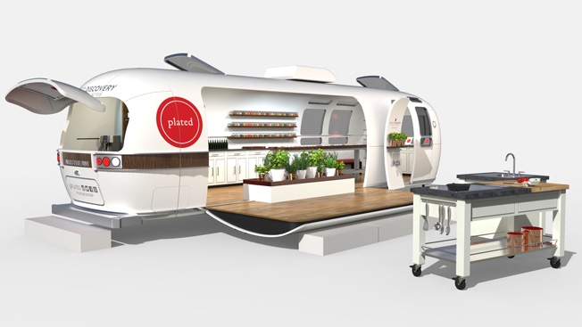 Airstream As Dining Car