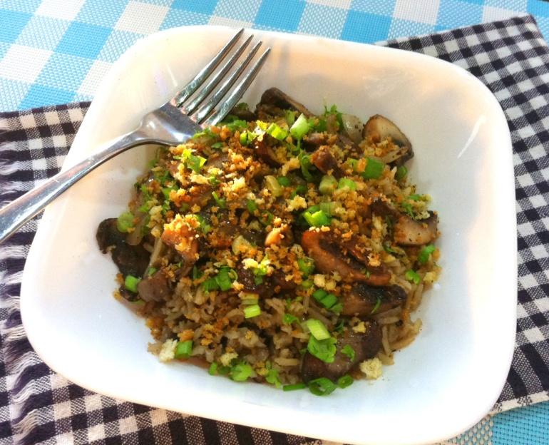 Double Mushroom Rice