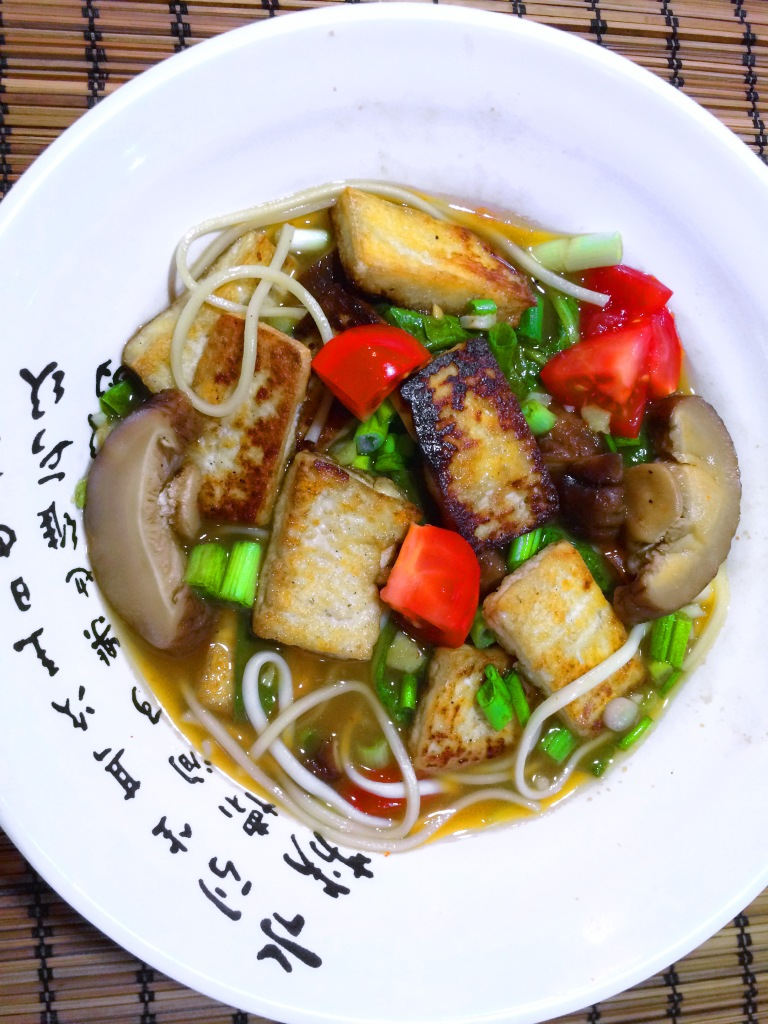 Sweet Hot and Sour Noodle Soup